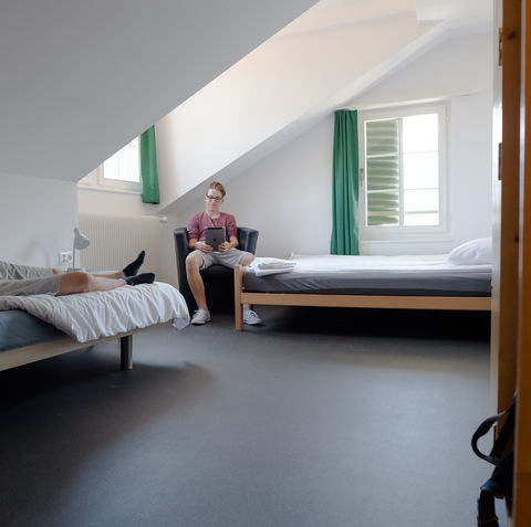 Eco 6-bed room shared / 6-Bett Mehrbettzimmer